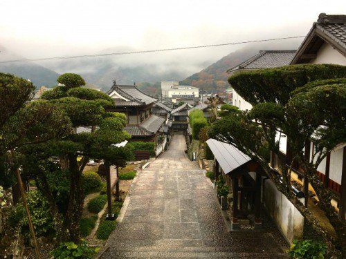 Explore the Unomachi ,an old town in Seiyo since Edo Period