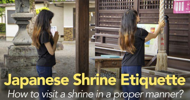 Japanese Shrine Etiquette: How to visit a shrine in a proper manner?