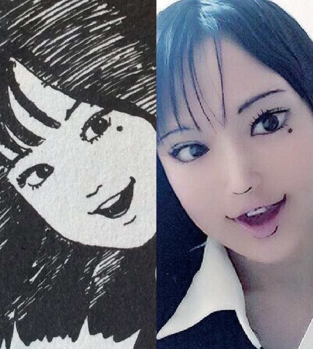 神Cosplay之伊滕潤二漫畫女角