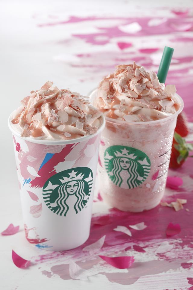 Starbucks櫻花商品2016