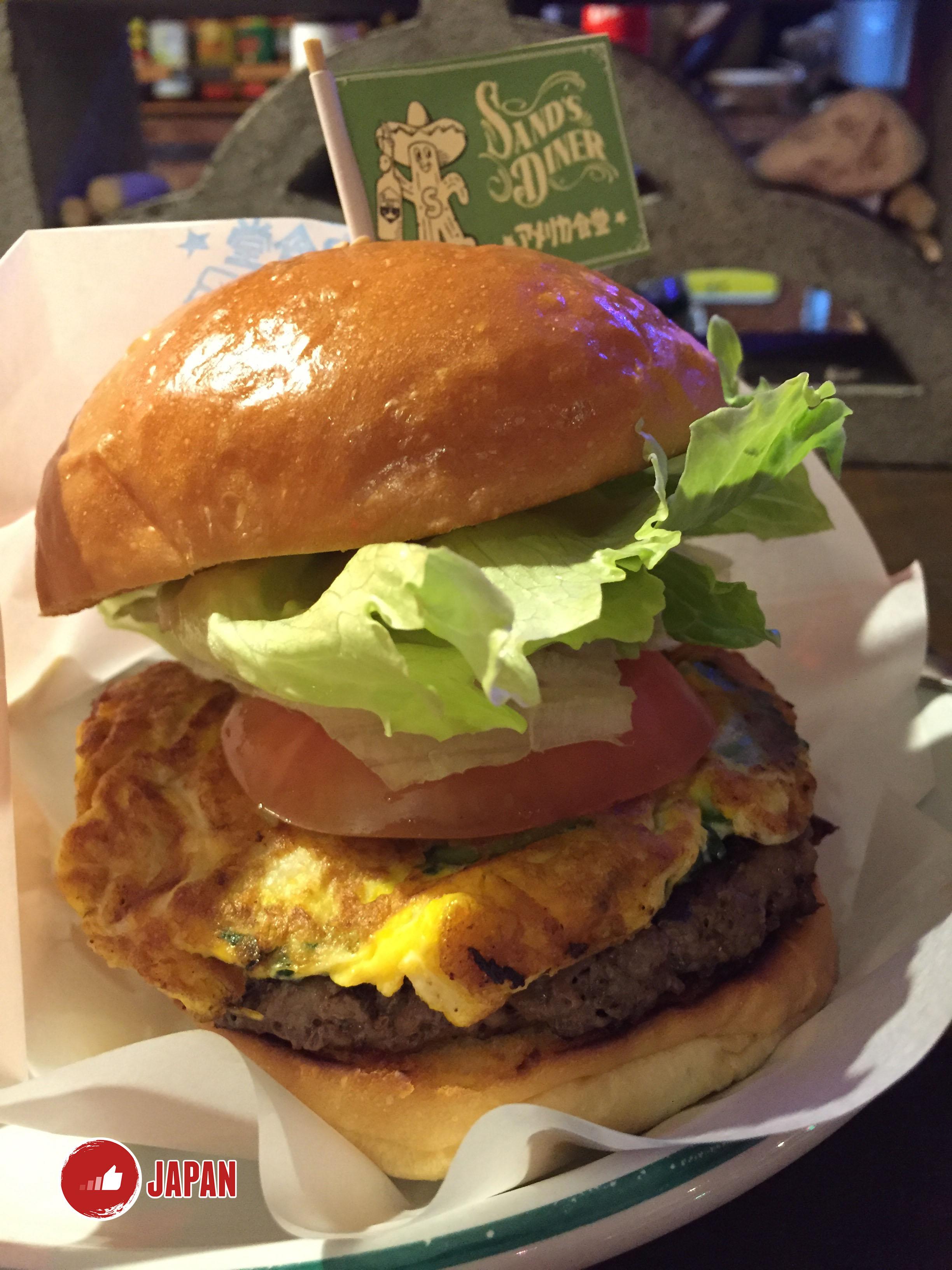 沖繩特產苦瓜漢堡