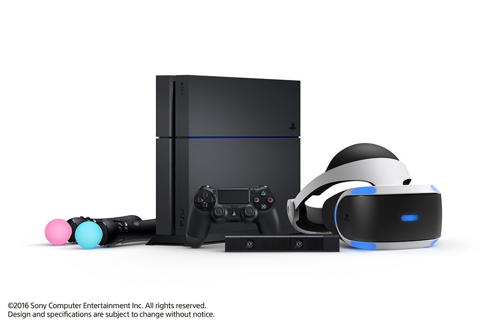 PlayStation VR 2016年10月正式開賣!