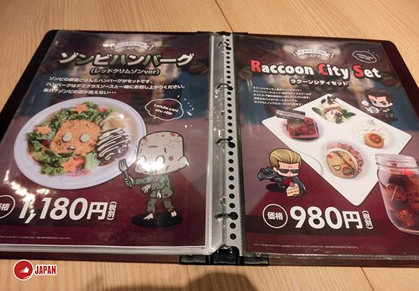 【得償所願】Biohazard期間限定「Capcom Cafe」