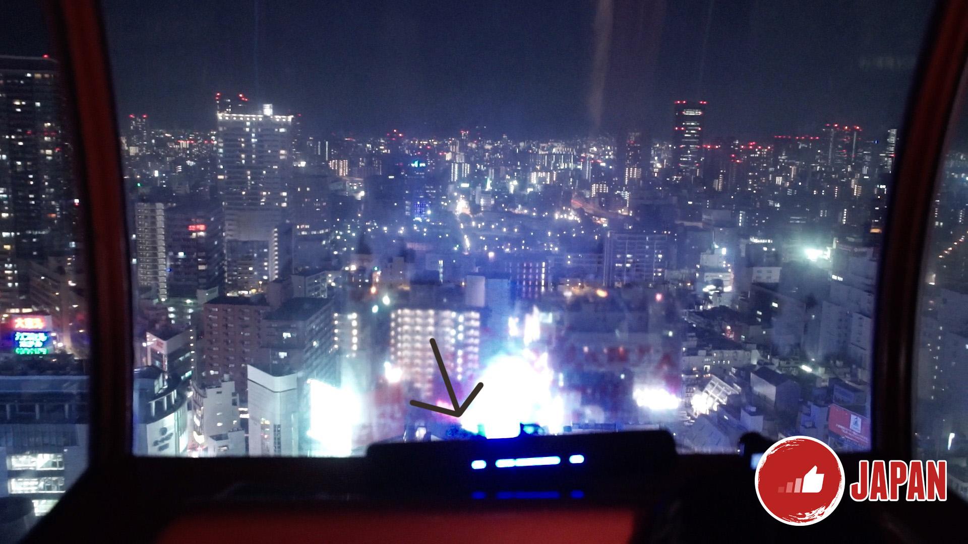 【大阪旅遊】大阪周遊卡免費景點推介2-HEP FIVE摩天輪