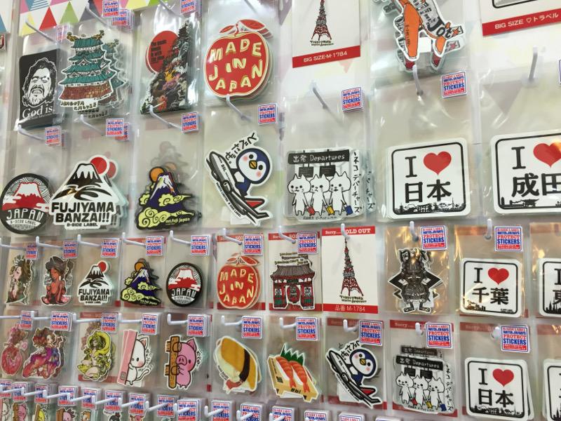 個性貼紙B side Label 成田機場都買到!