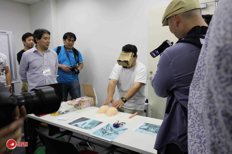 【18禁】親身直擊日本首屆成人 VR 展!