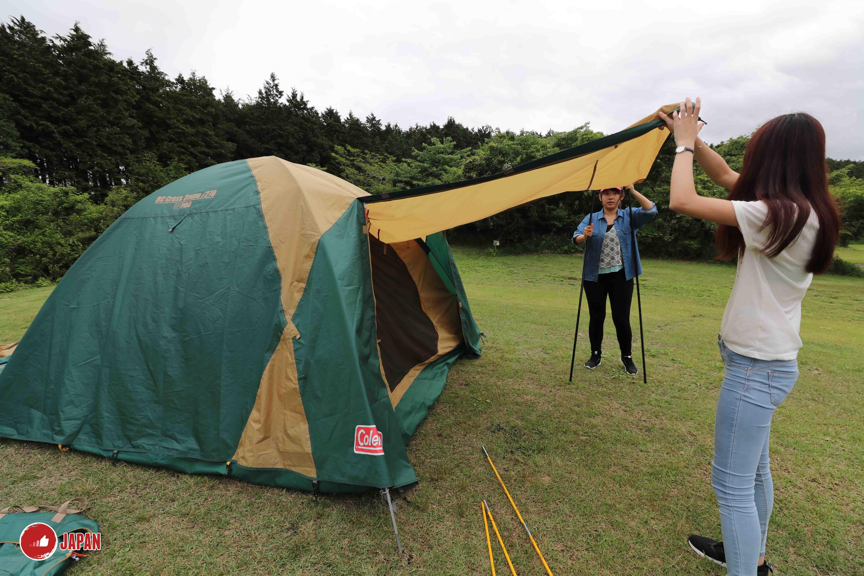 有乜好過去camping(一):日本富士山下去camping