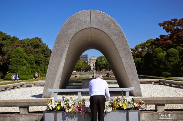 秋.日本.山陰山陽.廣島 .最悲傷的世界文化遺產 原爆ドーム