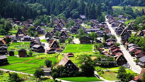 夏.日本.中部.白川鄉