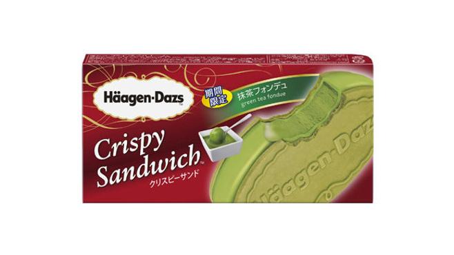 Häagen-Dazs Crispy Sandwich推出新口味「抹茶Fondue」