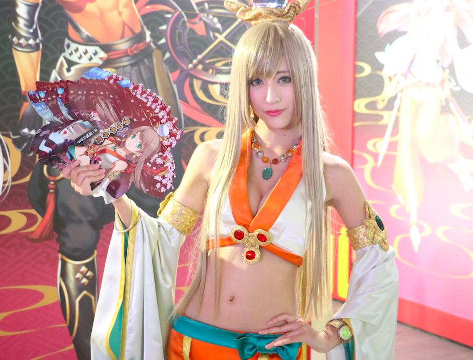 Tokyo Game Show 9‧17開放‧會場GAMEGIRL逐個捉