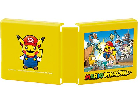 當比卡超變成Mario時!超得意Crossover商品開始發售