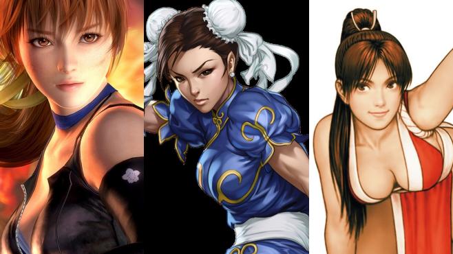 日迷投票 最性感格鬥Game女角排行榜