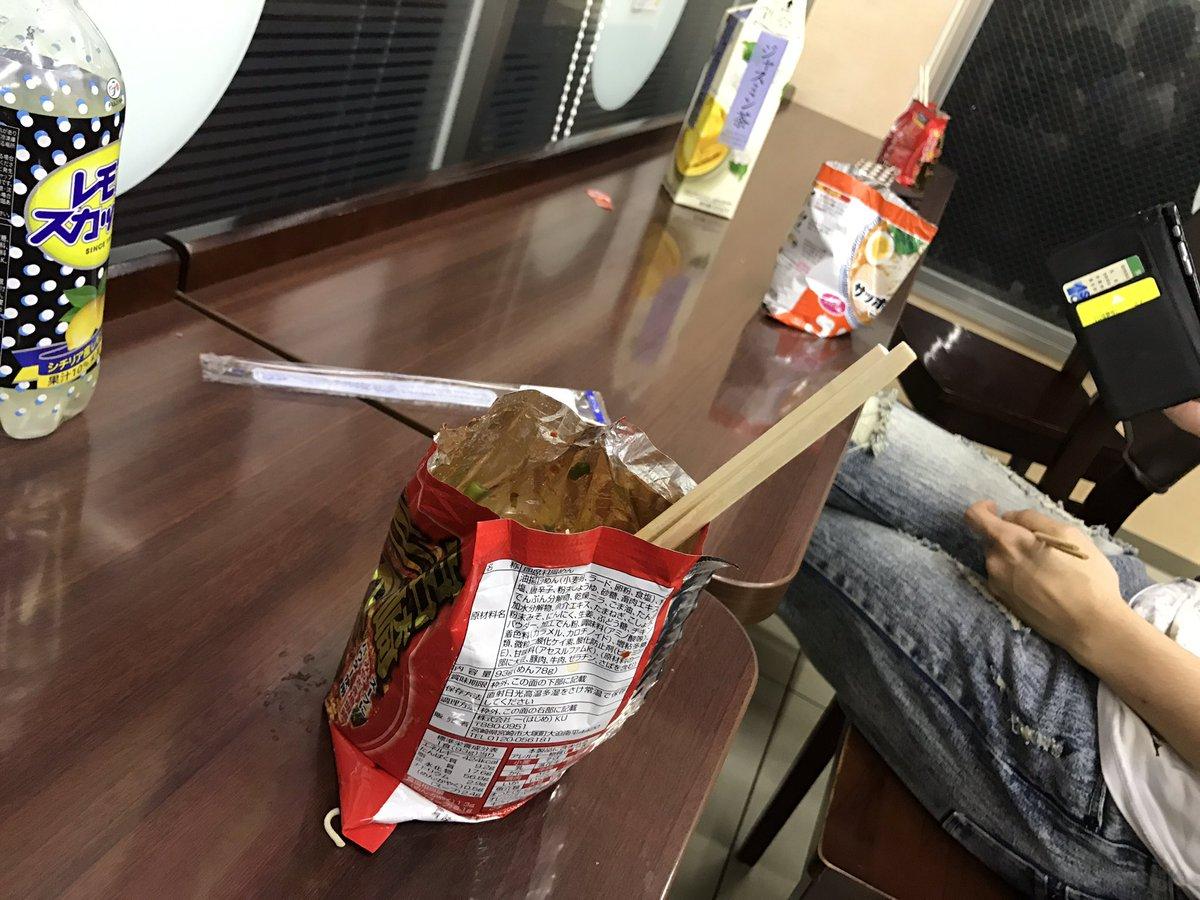 日本人食即食麵有特別的技巧