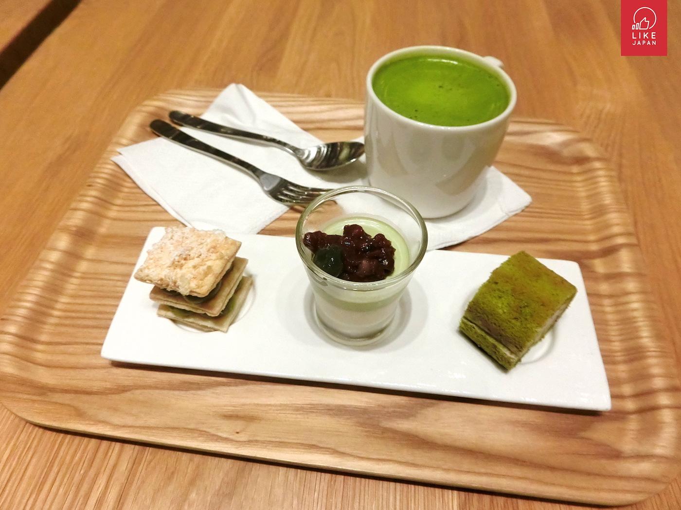 奧海城 MUJI Cafe 季節限定 抹茶甜品試食!