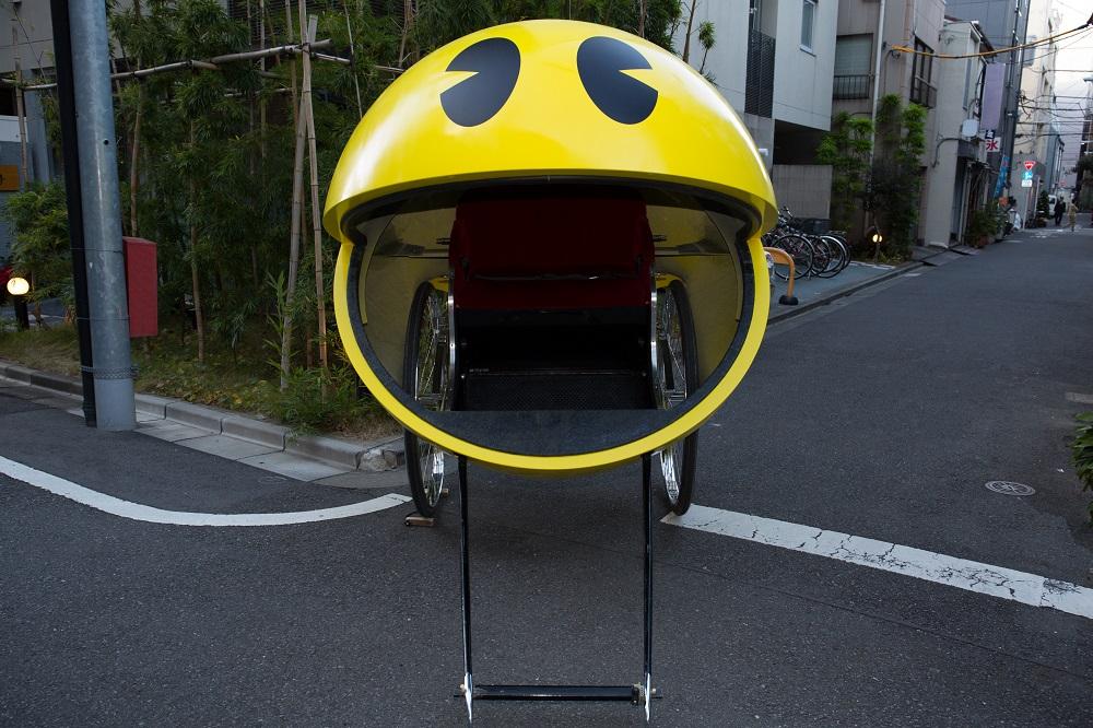 去淺草坐PAC-MAN人力車?聖誕特別企劃!