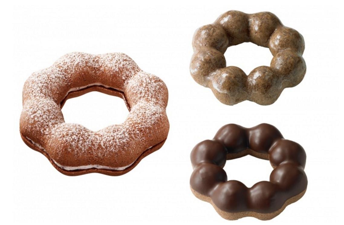 Mister Donut推多款情人節限定甜品