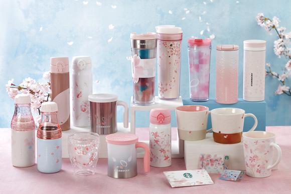 櫻花迷注意!日本星巴克新一季櫻花主題產品即將推出!