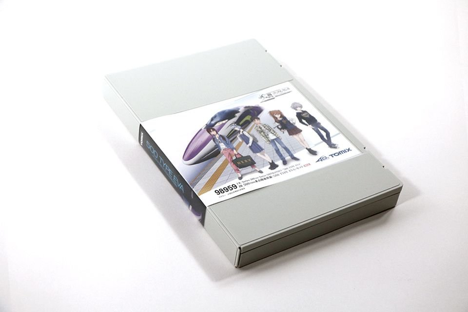 TOMIX 500系 TYPE EVA 入線報告