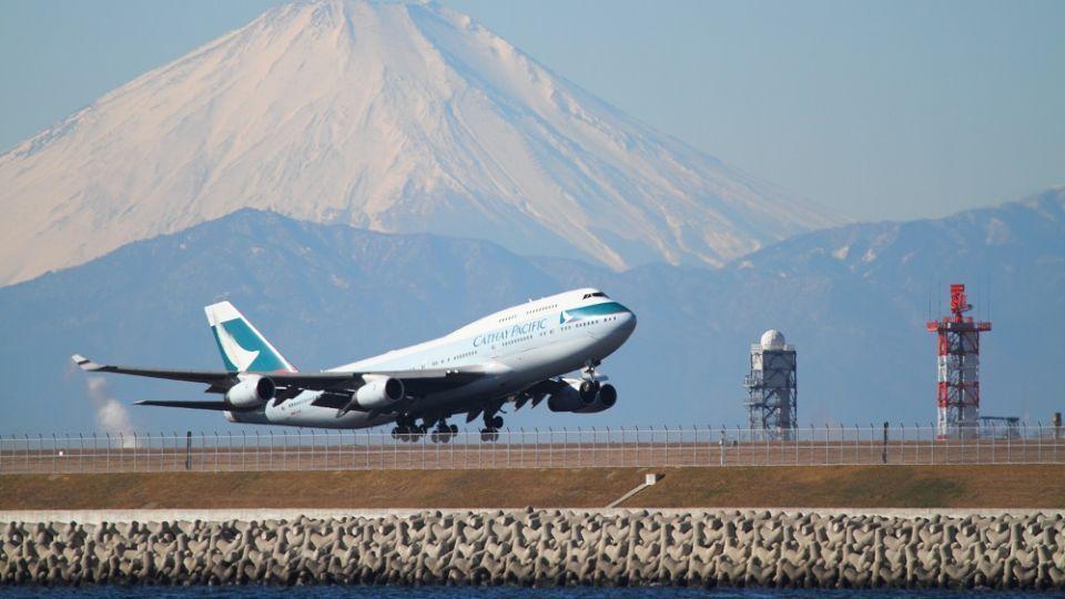 CX Fanfares今個星期有東京同福岡來回