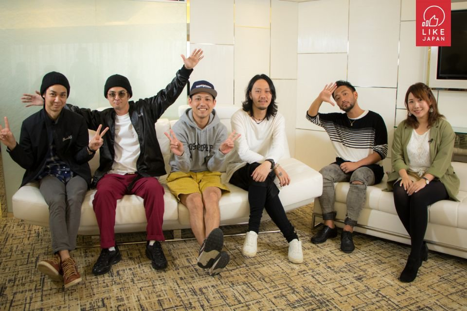 Like Japan 專訪:沖繩陽光搖滾樂團 Orange Range