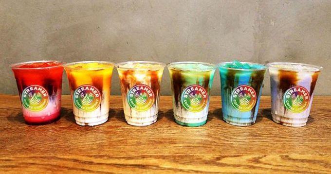 期間限定Rainbow latte