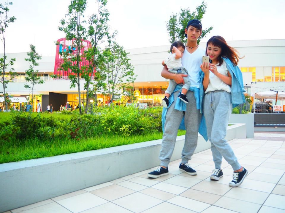 超有愛!日本年輕媽咪の親子裝