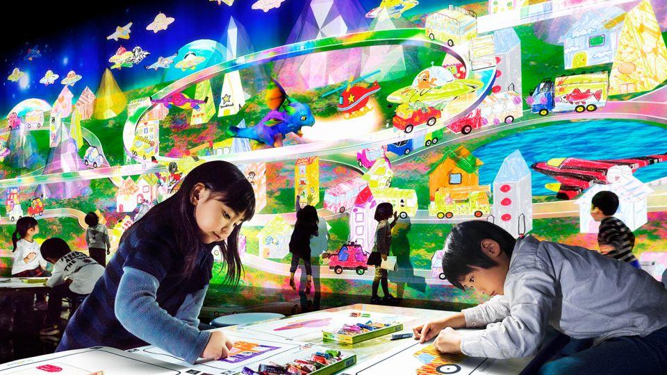 teamLab Island、TOMICA PLARAIL CAFE 7月1日福岡運河城開幕。
