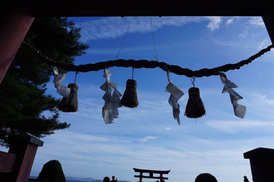 近江之嚴島,白髭神社 的湖中 大 鳥居