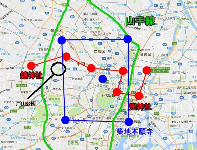 731部隊遺骸 x 東京三大魔方陣!關東區靈異熱點
