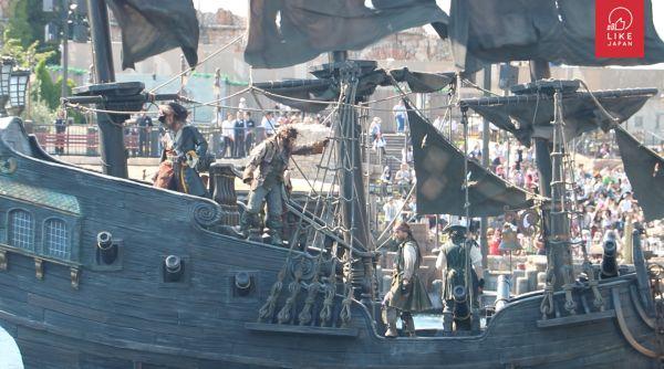 【今期流行】迪士尼 和風夏慶 X 加勒比海盜 濕身派對