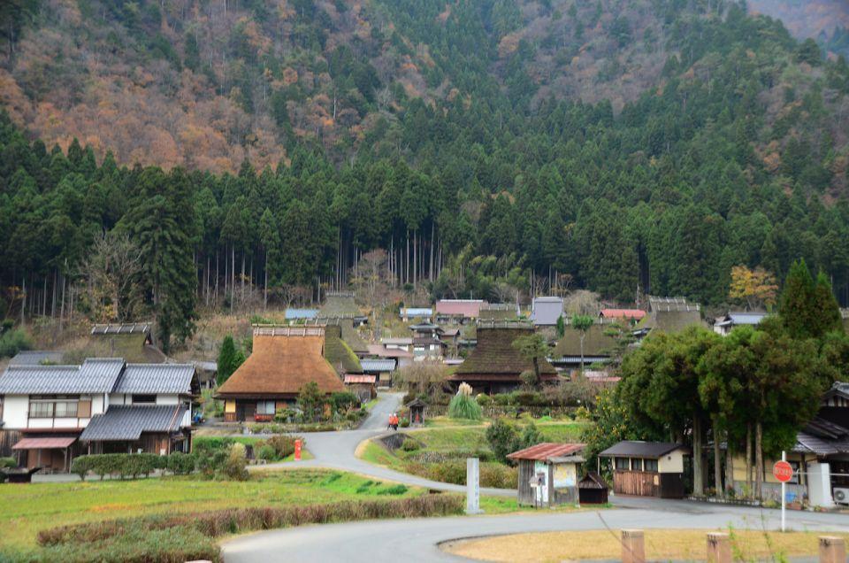 日本合掌屋聚落之一 :京都美山町