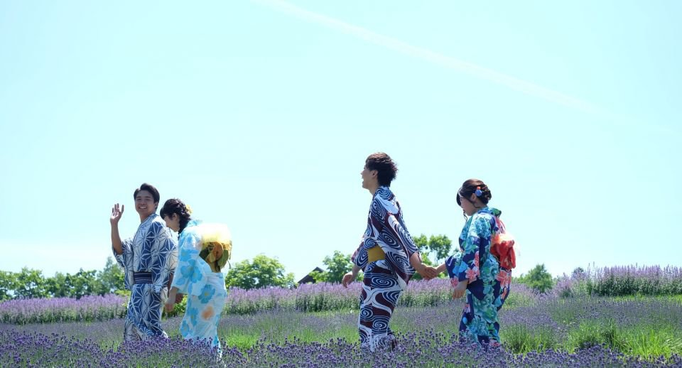 【札幌七八月必到!】不能錯過薰衣草「浴」照!