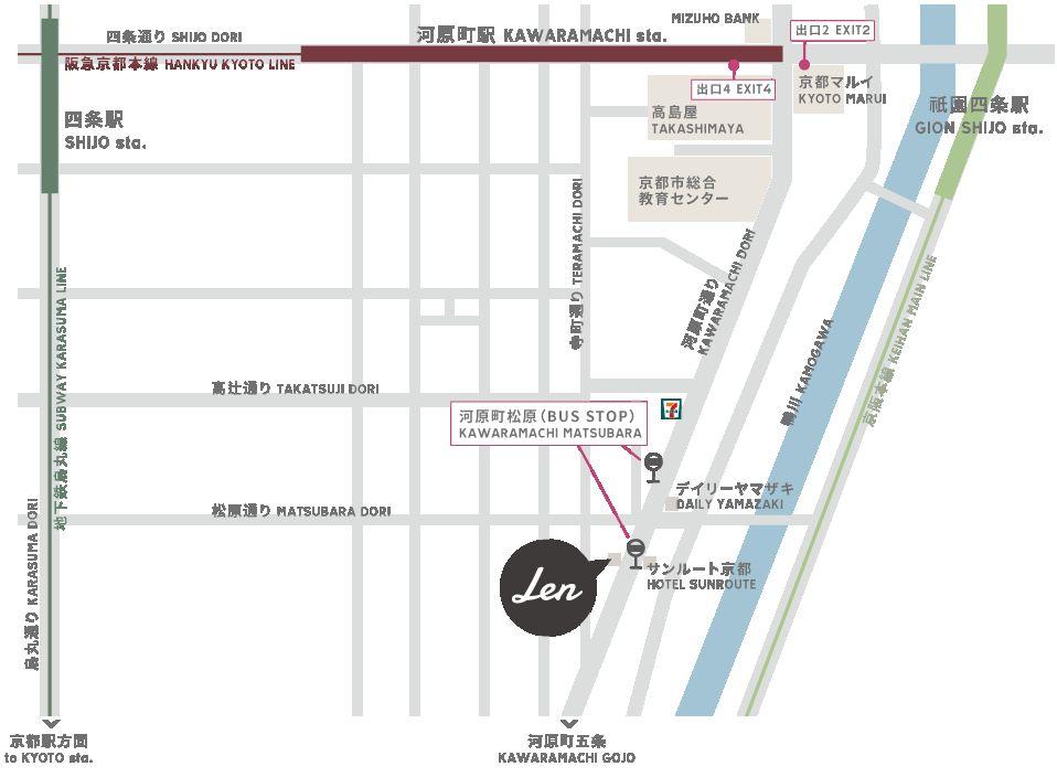 【京都Len KYOTO KAWARAMACHI】發現文青風型格HOSTEL !雙人房¥6800