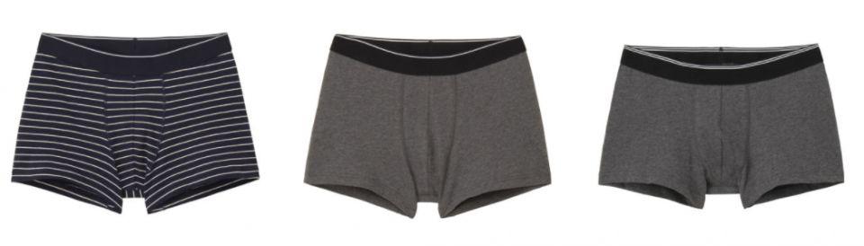 男裝有機棉各式內褲