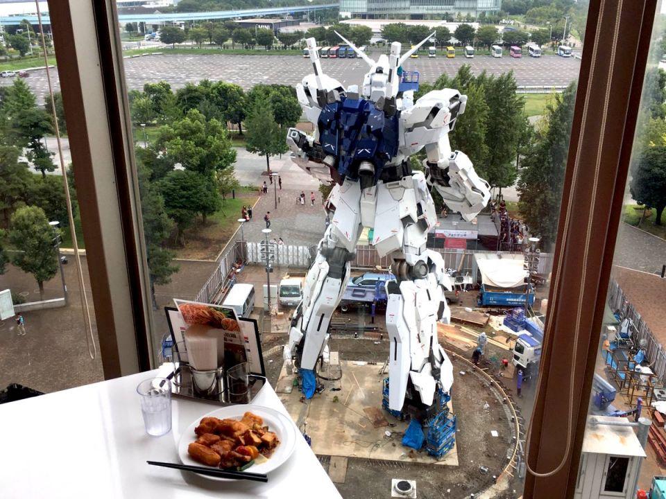 【高達迷必到!】東京台場「高達全景食放題餐廳」推介!