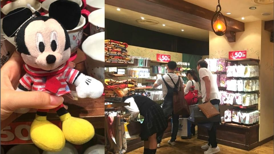 【Disney迷注意】半價大特價!精選東京澀谷Disney Store