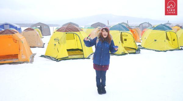 《北海道導遊》EP.1 ICE LAND阿寒湖 香蕉船 冰上活動任你玩