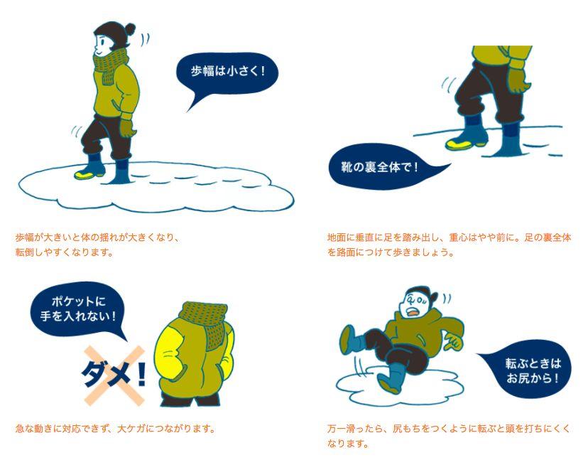NHK教你落雪防跌 6個易跣地方要注意