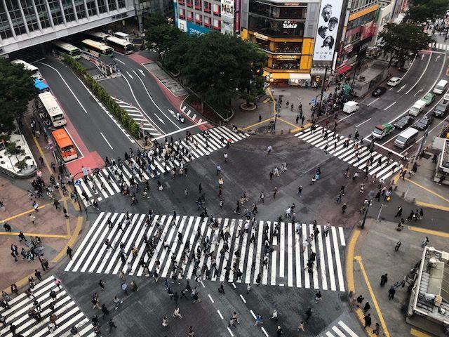大人氣攝影景點 : 澀谷的路口交叉點