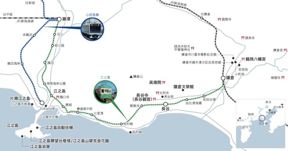 鎌倉 江之島交通 6個PASS周遊券合集