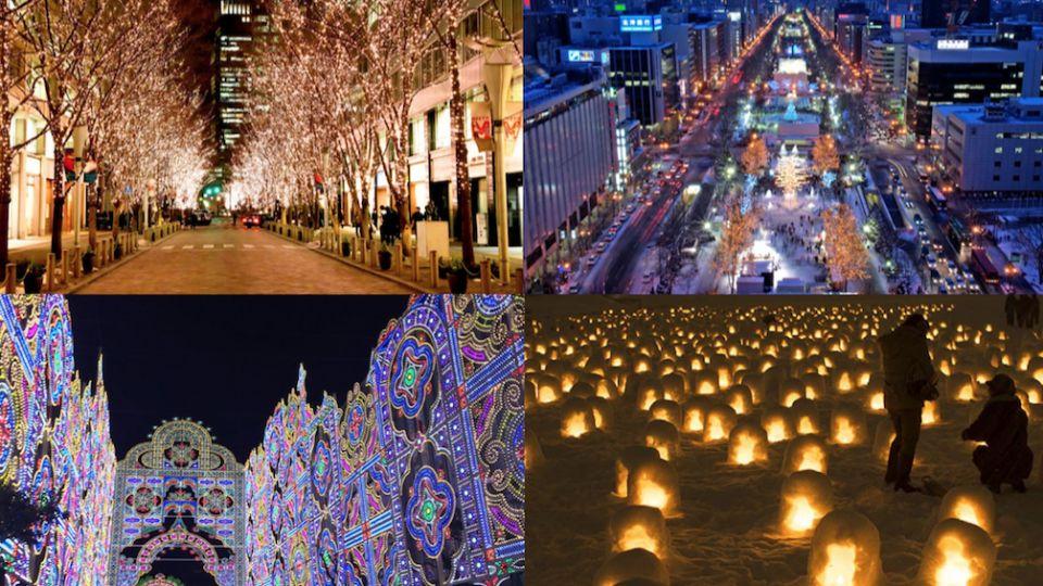 [秋冬觀光] 日本10月-2月觀光活動特集(萬聖節,聖誕燈飾,跨年,白川鄉點燈,雪祭)