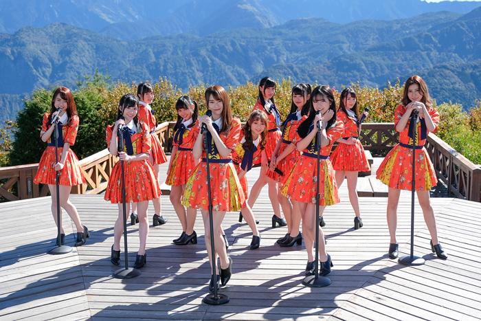 AKB48 Team TP拍攝首張單曲《勇往直前》MV 成員運氣滿點看見日出流星