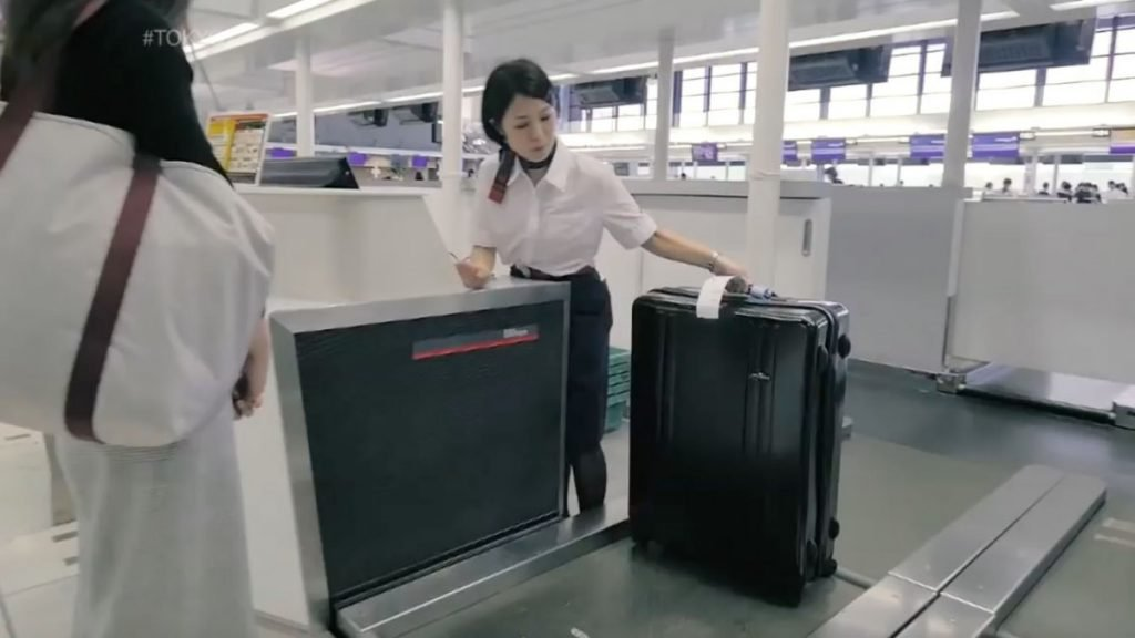 善待行李如對嬰兒 日本成田機場優質行李寄艙服務