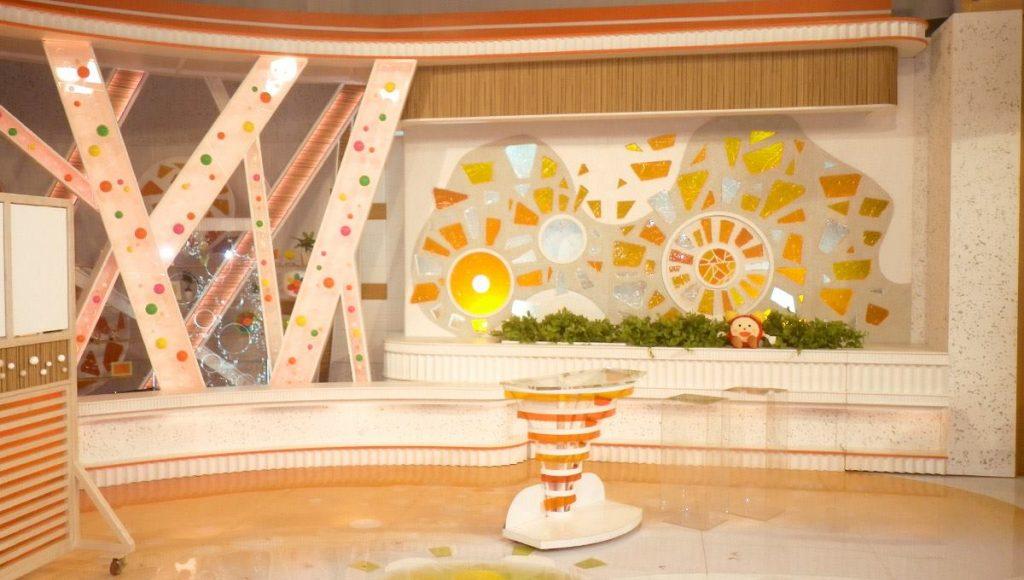 日本晨間節目「鬧鐘TV」(めざましテレビ) 佈景設計大揭密