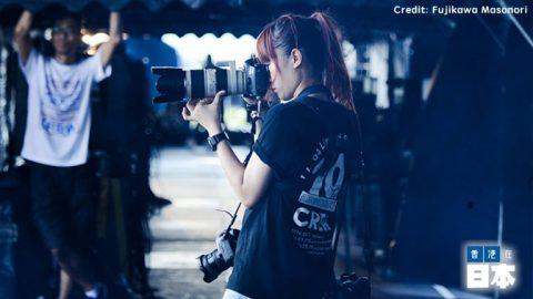 專訪:日本樂隊的香港攝影師 - Viola Kam / 香港在日本