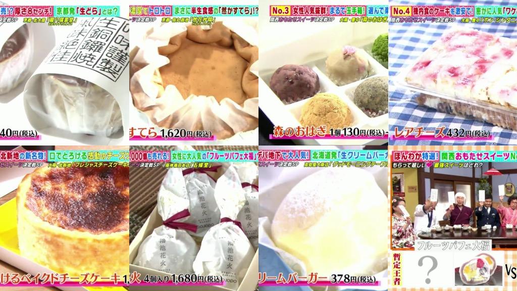 關西菓子/甜品爭霸戰!7款人氣甜品蛋糕+萩餅+銅鑼燒等筆記