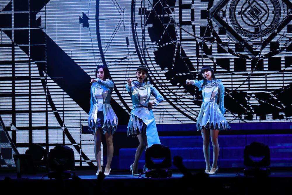 Perfume台灣演唱會三千粉絲一起high!