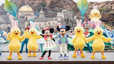 兔耳小雞登場!東京迪士尼海洋復活節 全新角色
