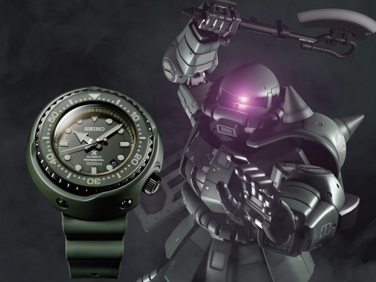 UC年代科學技術結晶 X 頂級鐘錶品牌SEIKO  限量版PROSPEX 系列聯乘別注版手錶